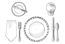 Place Setting for Casual Dining