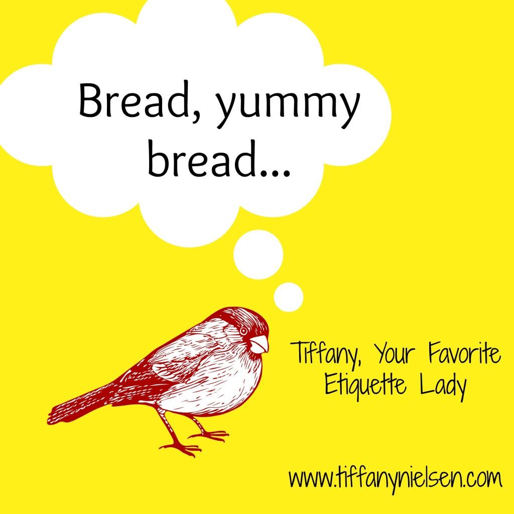 Bread etiquette