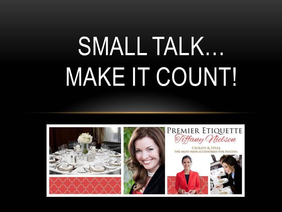 Small Talk Etiquette
