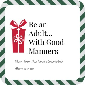 Adult Manners Matter